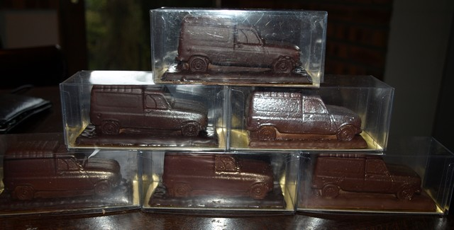 4L en chocolat