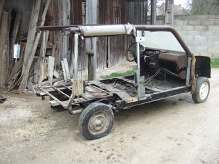 restauration chassis 4L