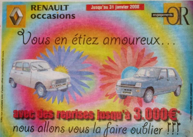 publicité R4